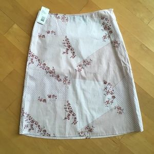 DKNY Jeans junior's skirt pink floral pencil
